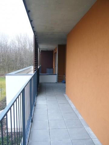 Balkón v Bratislave - Petržalke pred úpravou