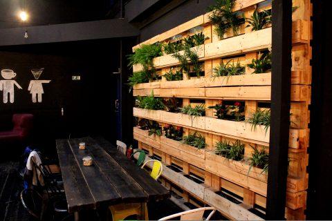 Zelená stena Urban House v Bratislave