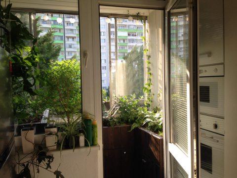 Balkón Bratislava Petržalka po úprave