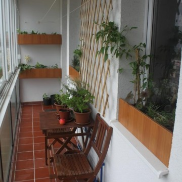 Permakultúrny balkón